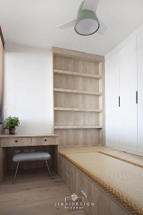 二居 三居 收纳 旧房改造 北欧 久栖设计 家装设计 两居改三居 书房图片来自久栖设计在三段式8m储物长条客厅高效利用法的分享