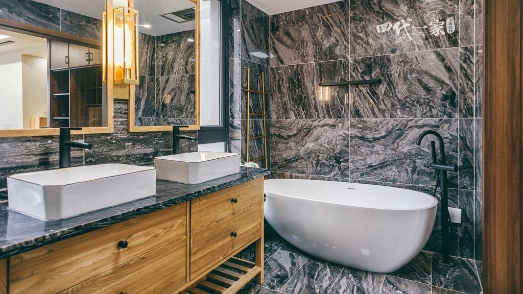 简约 现代 小资 收纳 四室 卫生间图片来自兄弟装饰-蒋林明在万科悦湾大平层设计,200平完工图的分享