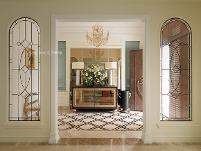 玄关图片来自张馨/瀚观室内装饰在为四代同堂筑一个梦想城堡的分享