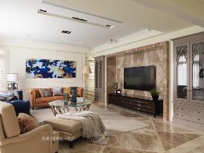 客厅图片来自张馨/瀚观室内装饰在为四代同堂筑一个梦想城堡的分享