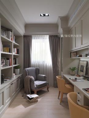 书房图片来自张馨/瀚观室内装饰在为四代同堂筑一个梦想城堡的分享