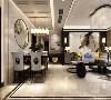 在开放空间设计中,客厅、餐厅既保持互通相连,又体现出每个空间的独立性。灵活运用木色,给予空间温暖的触感,秩序谨然又不失温度。