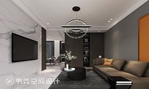 客厅图片来自韦克空间设计在流金岁月,港式情怀的分享