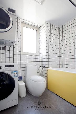 二居 简约 收纳 旧房改造 80后 久栖设计 卫生间图片来自久栖设计在无沙发客厅:为孩子打造游乐园的分享