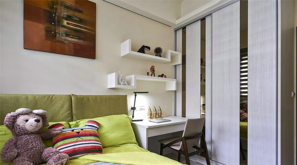 小资 80后 旧房改造 收纳 白领 三居 卧室图片来自今朝小伟在145平米日式的分享