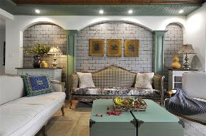 田园 三居 白领 收纳 旧房改造 80后 小资 客厅图片来自今朝小伟在145平米田园的分享