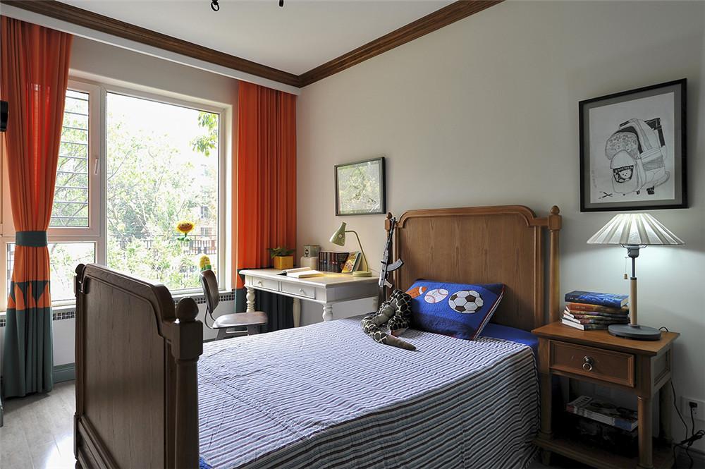 田园 三居 白领 收纳 旧房改造 80后 小资 卧室图片来自今朝小伟在145平米田园的分享