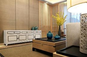 田园 三居 收纳 客厅图片来自今朝小伟在145平米原木清风的分享