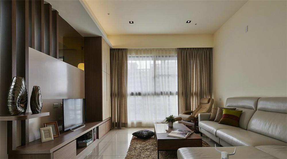 小资 80后 旧房改造 收纳 白领 三居 客厅图片来自今朝小伟在145平米日式的分享