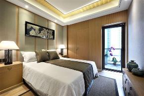 田园 三居 收纳 卧室图片来自今朝小伟在145平米原木清风的分享