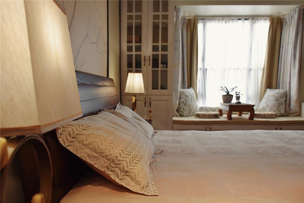 三居 白领 收纳 旧房改造 80后 小资 卧室图片来自今朝小伟在143平米中式的分享