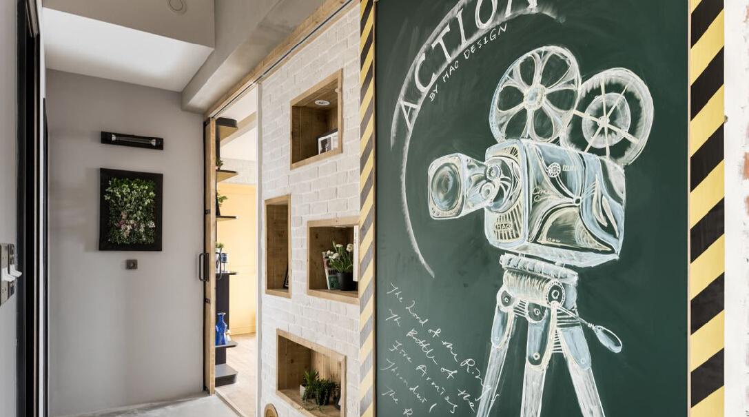 混搭 三居 白领 收纳 旧房改造 80后 小资 其他图片来自今朝小伟在118平米复古混搭工业风的分享