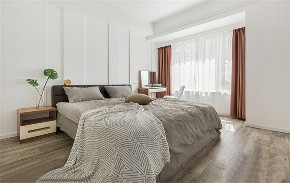 欧式 二居 白领 收纳 旧房改造 80后 小资 卧室图片来自今朝小伟在朝阳区远洋德邑北欧装修效果图的分享