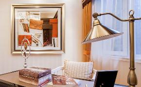 欧式 三居 白领 收纳 旧房改造 80后 小资 书房图片来自今朝小伟在110平米贵族奢尚设计的分享