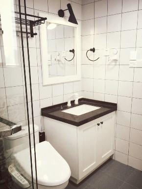 二居 欧式 白领 收纳 旧房改造 80后 小资 卫生间图片来自今朝小伟在北欧风格的分享