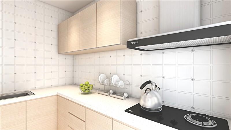 简约 三居 白领 收纳 旧房改造 80后 小资 厨房图片来自今朝小伟在滨河西里现代简约效果图的分享