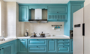 二居 白领 收纳 旧房改造 80后 小资 厨房图片来自今朝小伟在铂晶豪庭地中海风格装修效果图的分享