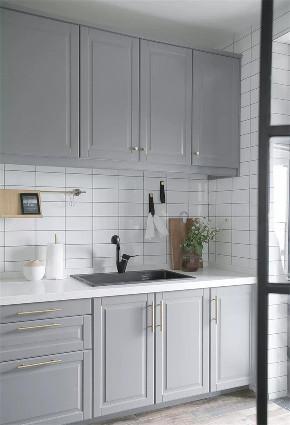 欧式 二居 白领 收纳 旧房改造 80后 小资 厨房图片来自今朝小伟在北京世纪城北欧风格装修效果图的分享