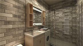 简约 三居 白领 收纳 旧房改造 80后 小资 卫生间图片来自今朝小伟在滨河西里现代简约效果图的分享