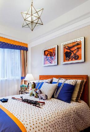 欧式 三居 白领 收纳 旧房改造 80后 小资 卧室图片来自今朝小伟在110平米贵族奢尚设计的分享