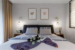 简约 二居 收纳 旧房改造 80后 小资 卧室图片来自今朝小伟在晨光花园现代简约风格装修效果图的分享