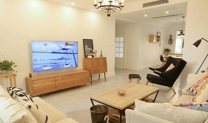 二居 欧式 白领 收纳 旧房改造 80后 小资 客厅图片来自今朝小伟在北欧风格的分享