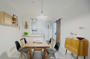 二居 欧式 白领 收纳 旧房改造 80后 小资 餐厅图片来自今朝小伟在北欧风格的分享