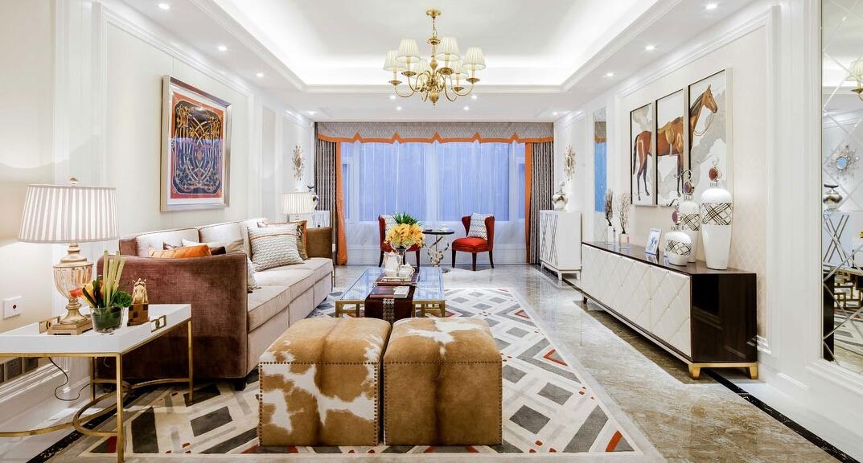 欧式 三居 白领 收纳 旧房改造 80后 小资 客厅图片来自今朝小伟在110平米贵族奢尚设计的分享
