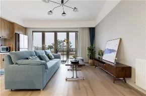 简约 二居 收纳 旧房改造 80后 小资 客厅图片来自今朝小伟在晨光花园现代简约风格装修效果图的分享