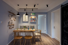 欧式 白领 旧房改造 80后 餐厅图片来自今朝小伟在初夏的海风的分享