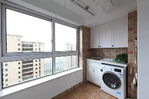 简约 二居 白领 收纳 旧房改造 80后 阳台图片来自今朝小伟在简约舒适和风家,享受禅意生活的分享