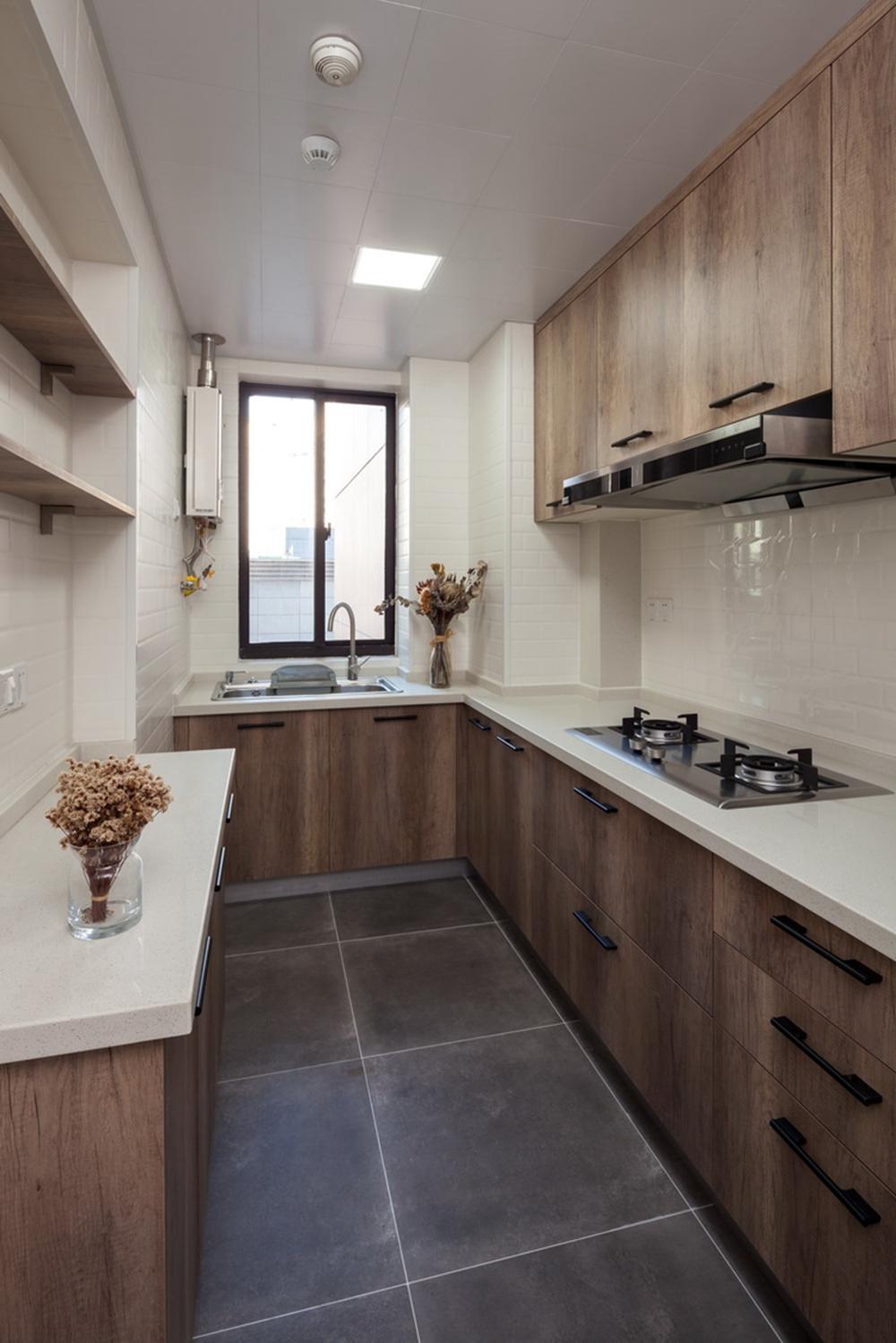欧式 白领 旧房改造 80后 厨房图片来自今朝小伟在初夏的海风的分享