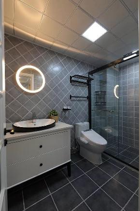 简约 二居 白领 收纳 旧房改造 80后 卫生间图片来自今朝小伟在简约舒适和风家,享受禅意生活的分享