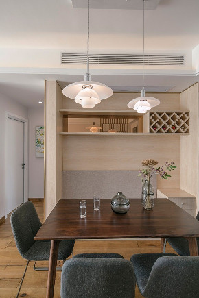 简约 白领 收纳 旧房改造 餐厅图片来自今朝小伟在家,暖暖的色调刚好的分享