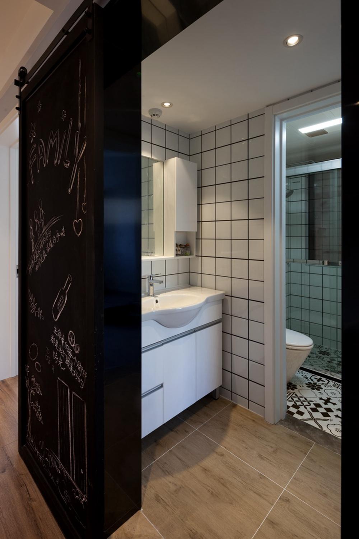 欧式 白领 旧房改造 80后 卫生间图片来自今朝小伟在初夏的海风的分享