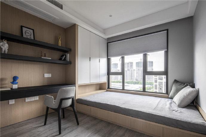 简约 三居 白领 收纳 旧房改造 卧室图片来自今朝小伟在130平米精致大气的轻奢空间的分享