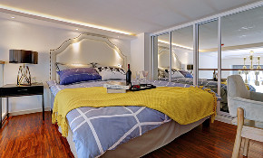 简约 三居 小资 卧室图片来自宜宾宅心装饰在【宜宾宅心装饰】的分享
