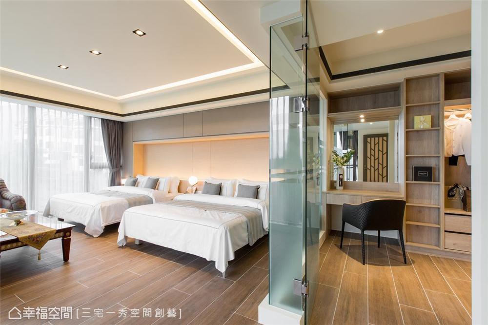 装修设计 装修完成 别墅 卧室图片来自幸福空间在662平,古朴京都×现代美学 别墅的分享