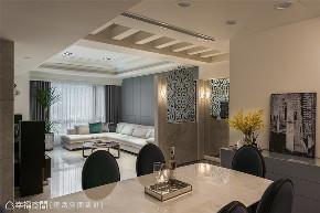 装修设计 装修完成 新古典 餐厅图片来自幸福空间在119平,风雅入室 精雕新古典美学的分享