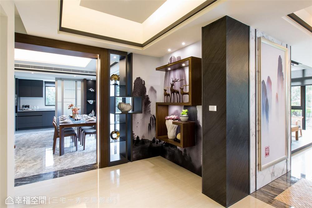 装修设计 装修完成 别墅 餐厅图片来自幸福空间在662平,古朴京都×现代美学 别墅的分享