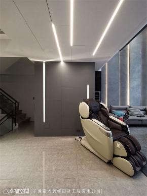 装修设计 装修完成 现代风格 楼梯图片来自幸福空间在331平,现代沉稳舒适机能宅的分享