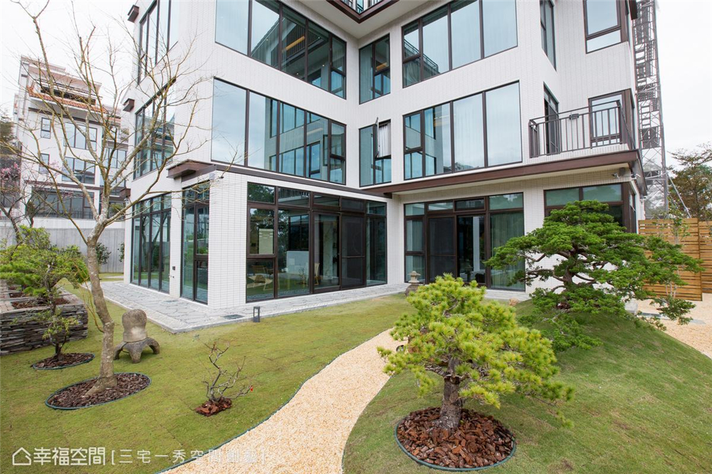 装修设计 装修完成 别墅 其他图片来自幸福空间在662平,古朴京都×现代美学 别墅的分享