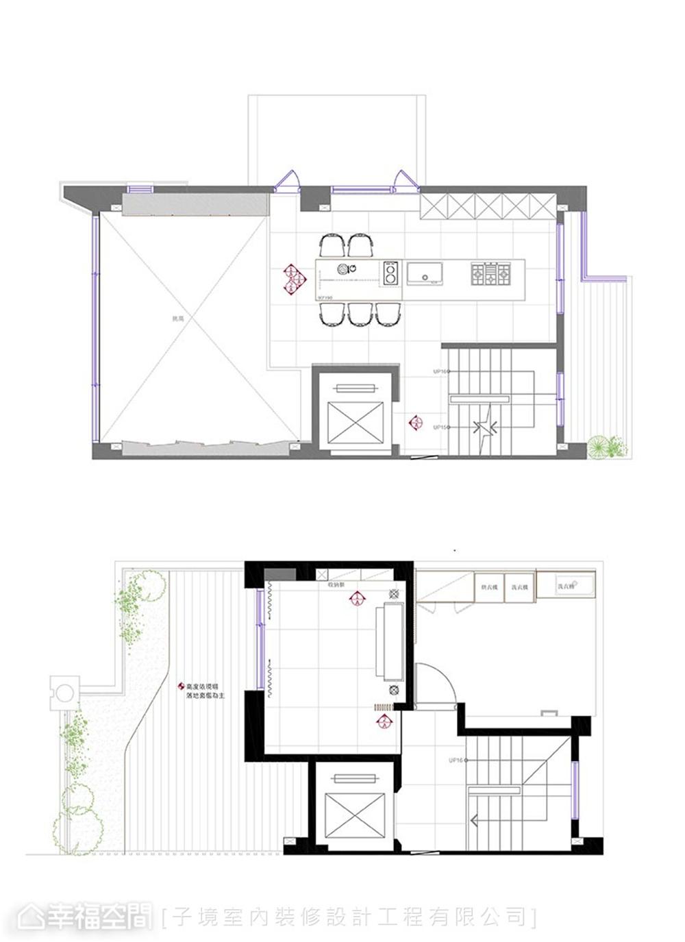 装修设计 装修完成 现代风格 户型图图片来自幸福空间在331平,现代沉稳舒适机能宅的分享