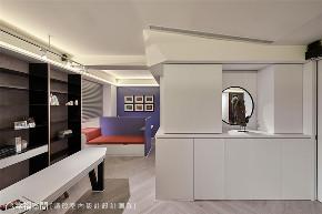 装修设计 装修完成 混搭 二居 书房图片来自幸福空间在126平,围塑美式混搭休闲风的分享