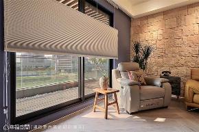 装修设计 装修完成 混搭 二居 阳台图片来自幸福空间在126平,围塑美式混搭休闲风的分享