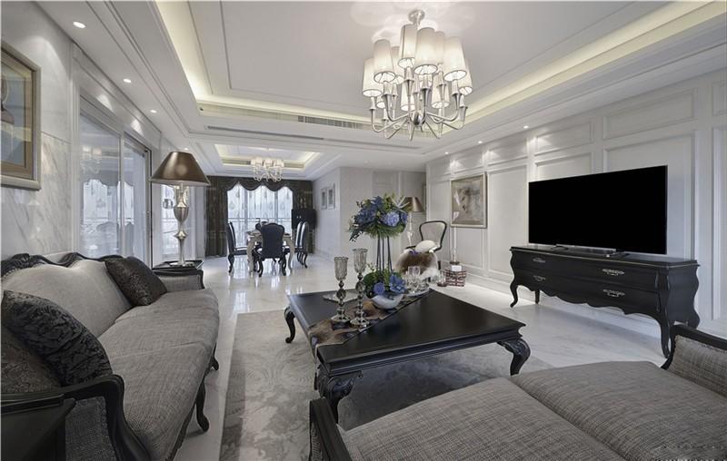欧式 白领 收纳 旧房改造 80后 小资 二居 客厅图片来自今朝小伟在法华南里北欧风格装修效果图的分享