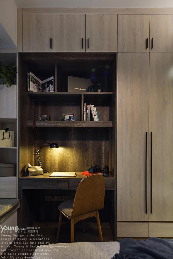 混搭 三居 收纳 小资 简约 卧室图片来自漾设计在Young新作   现代工业风《薰》的分享