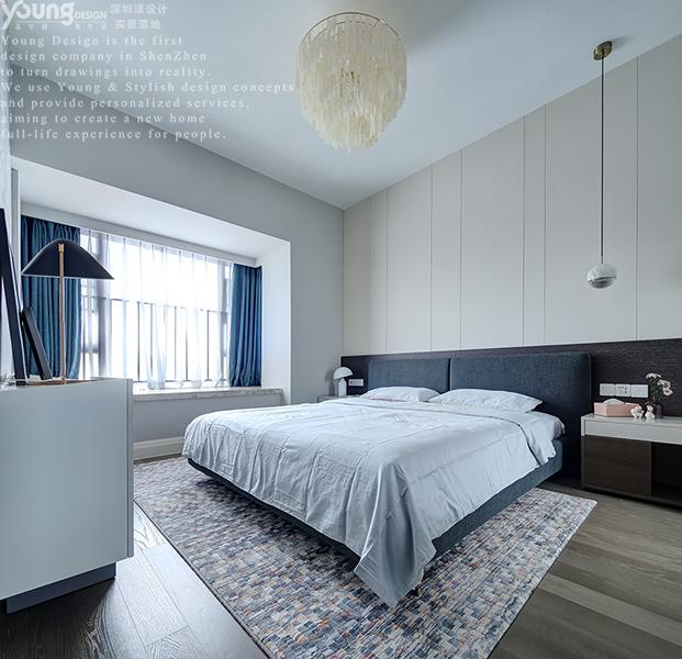 简约 小资 卧室图片来自漾设计在Young新作 | 华润城精装房改造的分享
