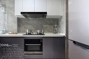 简约 三居 小资 厨房图片来自漾设计在Young新作 | 轻奢风格《立风》的分享