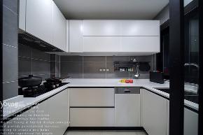 简约 三居 小资 旧房改造 80后 收纳 厨房图片来自漾设计在Young新作 | 红树西岸精装修改造的分享